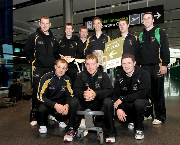 Jackie Tyrrell, Michael Rice, Richie Power, John Dalton, Eoin Larkin, Tommy Walsh, Richie Hogan and Paul 30/11/2011