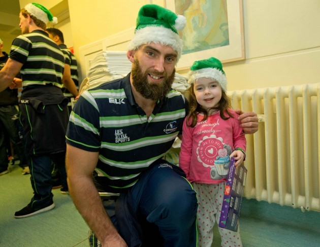 John Muldoon with Aisling Kennedy