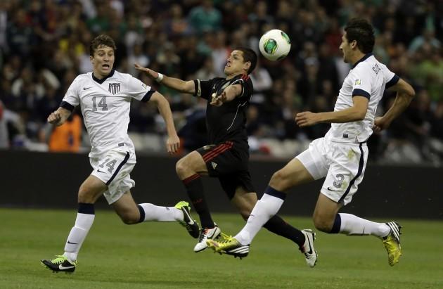 Mexico USA WCup Soccer
