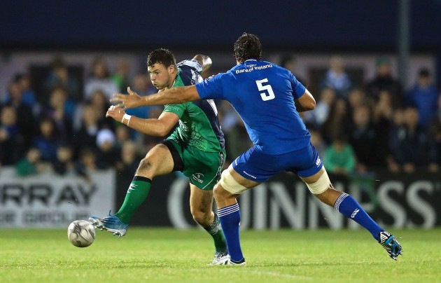 Mike McCarthy with Robbie Henshaw