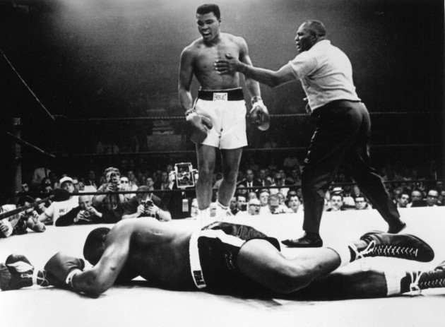 Cassius Clay/Sonny Liston 25/5/1965