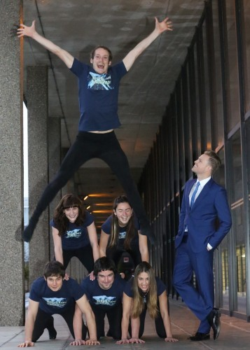 Nicky Byrne pictured at the launch of The Million Euro Challenge