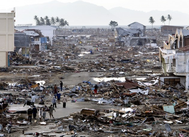 INDONESIA TSUNAMI INSURANCE