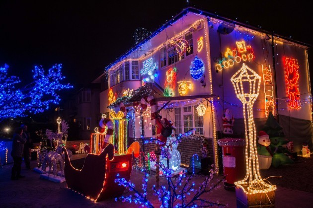 13 absurdly extravagant christmas lights displays that will fill you with festive cheer