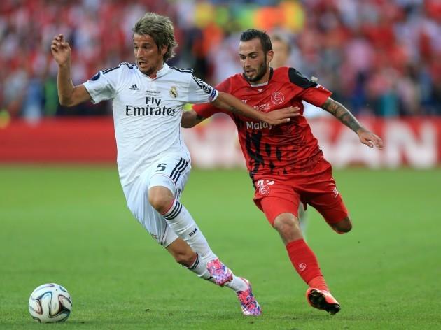 Soccer - 2014 UEFA Super Cup - Sevilla v Real Madrid - Cardiff City Stadium