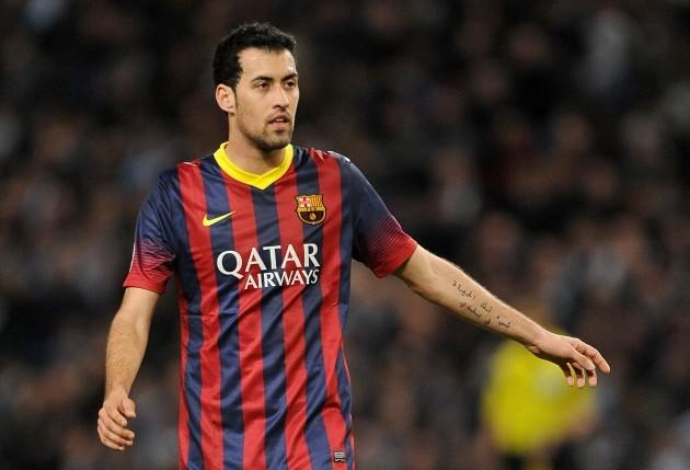 Soccer - UEFA Champions League - Round of 16 - Manchester City v Barcelona - Etihad Stadium