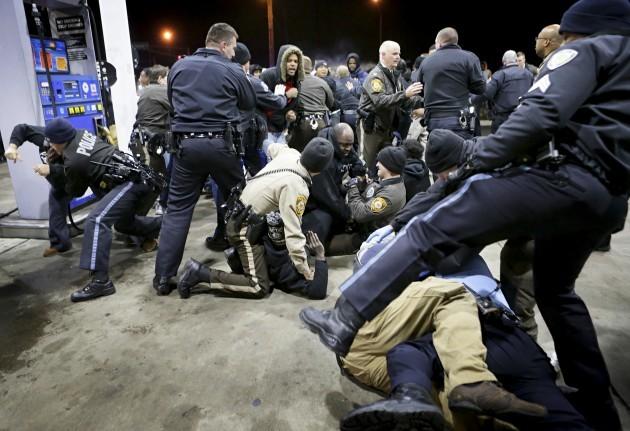 APTOPIX Killings By Police Berkeley