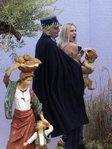 Vatican Femen Protest