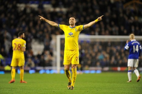 Soccer - Barclays Premier League - Everton v Crystal Palace - Goodison Park