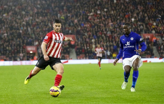 Soccer - Barclays Premier League - Southampton v Leicester City - St. Mary's