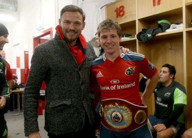 Andy Lee with Neil Cronin