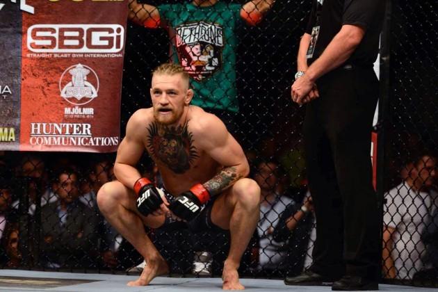 Conor McGregor before the fight