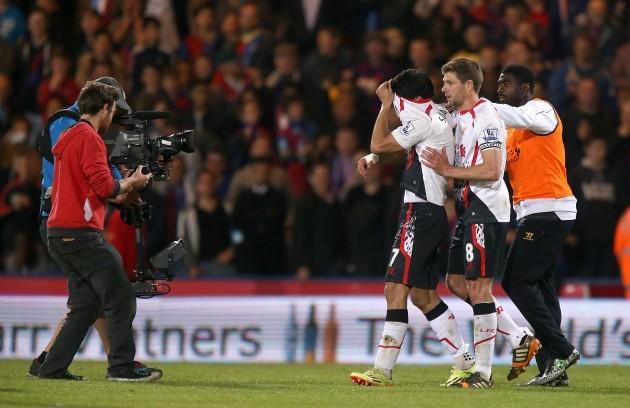 Soccer - Barclays Premier League - Crystal Palace v Liverpool - Selhurst Park