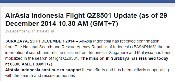 Update AA FB