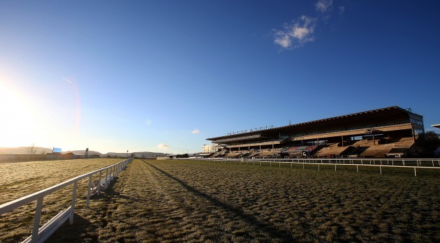 General view from Leopardstown racecourse this morning