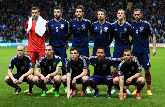 Soccer - UEFA Euro 2016 - Qualifying - Group D - Scotland v Republic of Ireland - Celtic Park