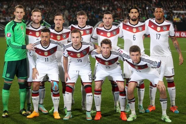 Germany Gibraltar Euro Soccer