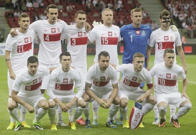 Poland Montenegro Soccer WCup
