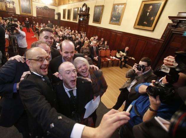 Same-sex weddings in Scotland