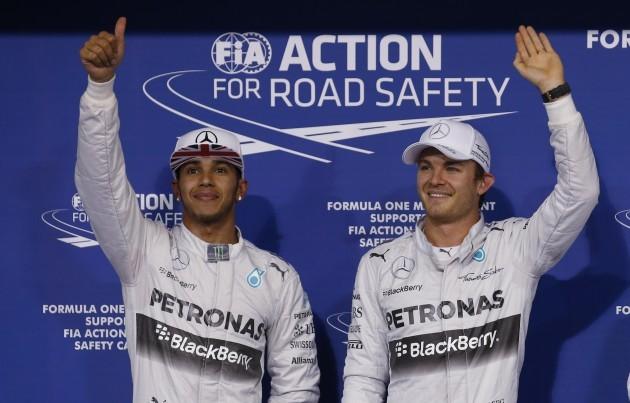 Mideast Emirates F1 GP Auto Racing
