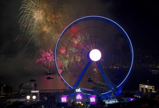 Hong Kong New Year Celebration