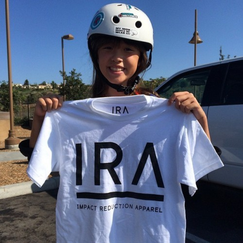 Repping at Alga Norte last Sunday! Like the tee? Want more? Let us know. #IRA #IRApparel #cushionyourdome