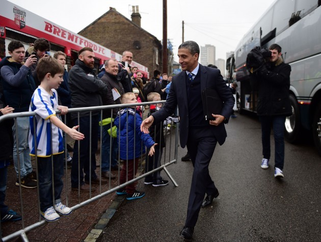 Soccer - FA Cup - Third Round - Brentford v Brighton and Hove Albion - Griffin Park
