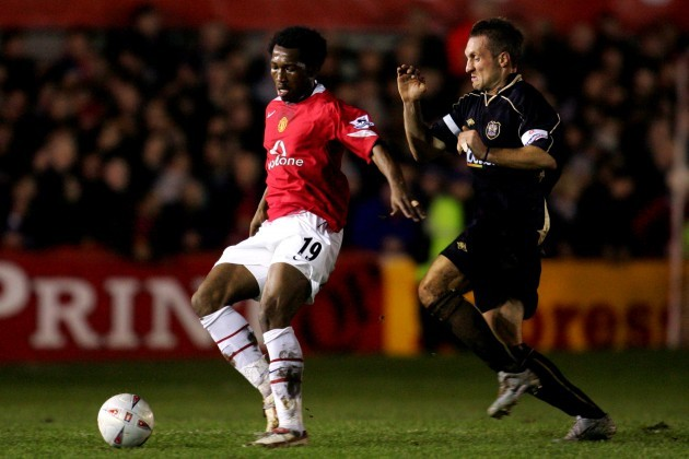 Soccer - FA Cup - Third Round - Replay - Exeter City v Manchester United - St James' Park