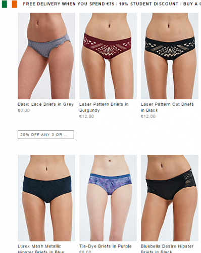31012f397 Urban Outfitters forced to remove 'thigh gap' photo from website ...