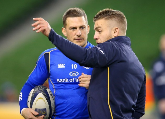 Jimmy Gopperth and Ian Madigan