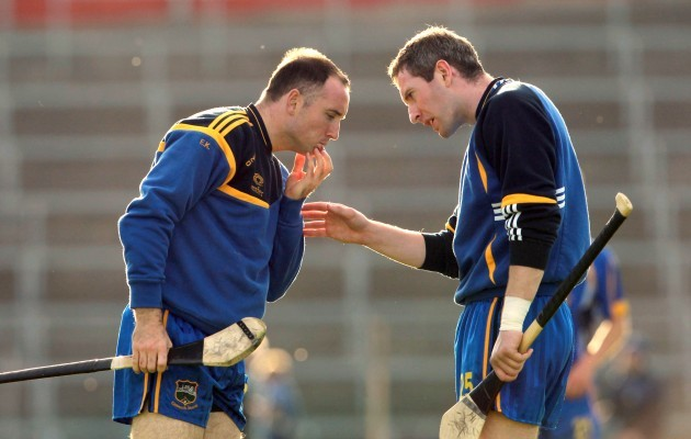 Eoin Kelly with John O'Brien
