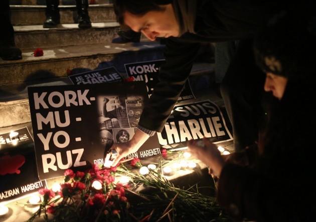 Turkey France Newspaper Attack