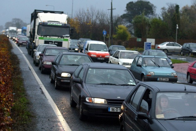 FLOODING SCENES SEVERE BAD WEATHER CONDITIONS IN IRELAND TRAFFIC DELAYS CONGESTION GRIDLOCK
