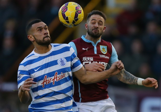 Soccer - Barclays Premier League - Burnley v Queens Park Rangers - Turf Moor