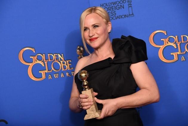 72nd Annual Golden Globe Awards - Press Room