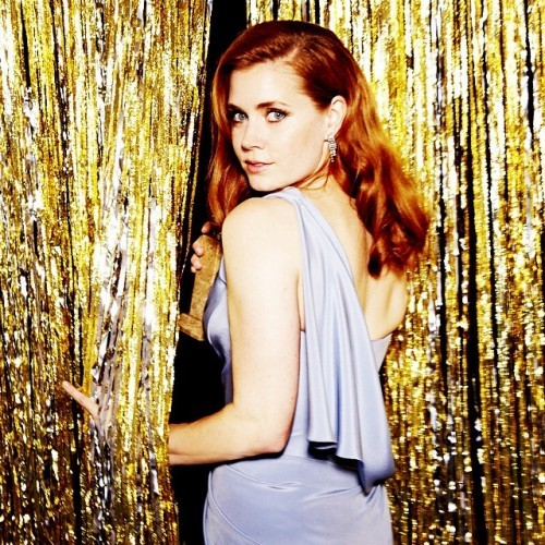Amy Adams -- Best Actress, Comedy or Musical, Big Eyes #goldenglobes (Photo by @ellenvonunwerth)