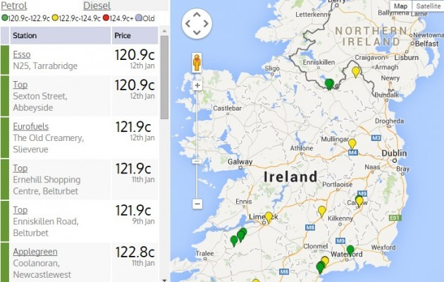 Home heating oil prices waterford ireland