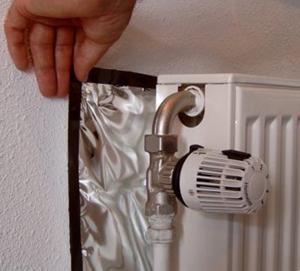 Radiator-Insulation