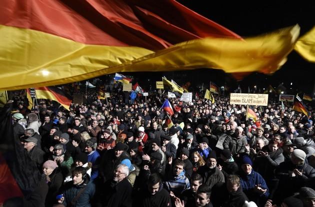 Germany Anti Islamization Rally