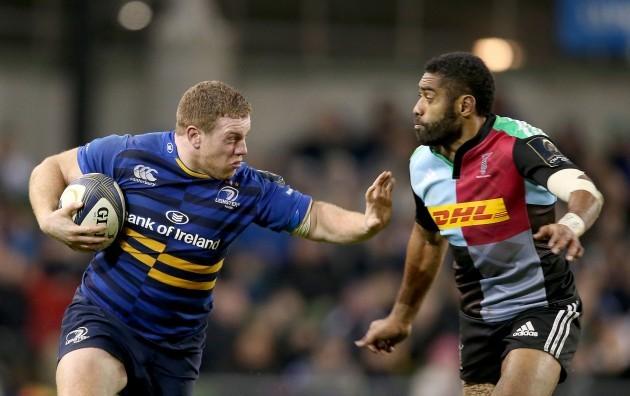 Sean Cronin tackled by Aseli Tikoirotuma