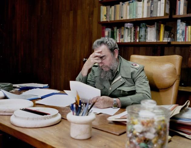 Fidel Castro 1985