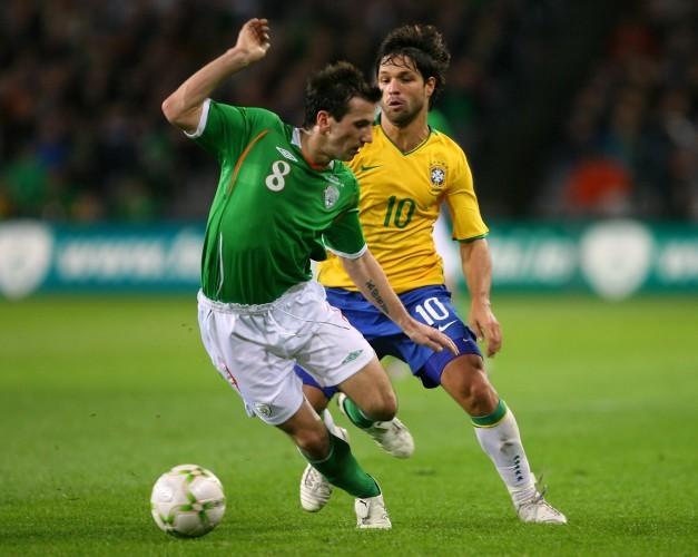 Soccer - International Friendly - Republic of Ireland v Brazil - Croke Park