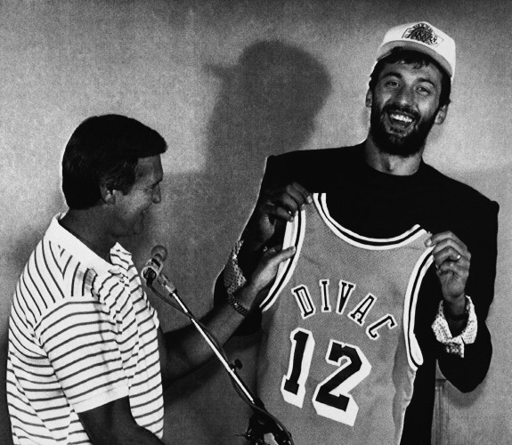 NBA Draft Pick Divac 1989
