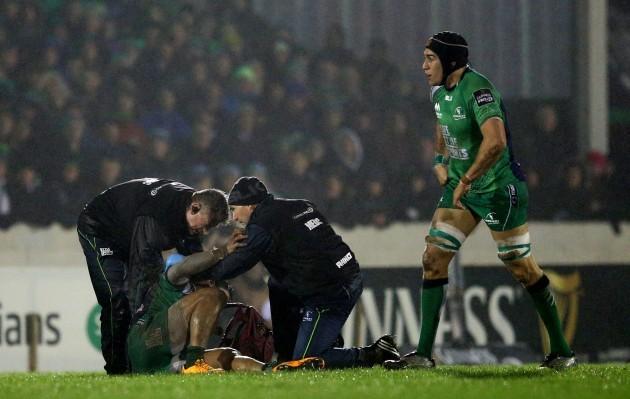 Bundee Aki injured