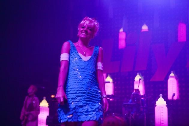 Lily Allen in concert - London