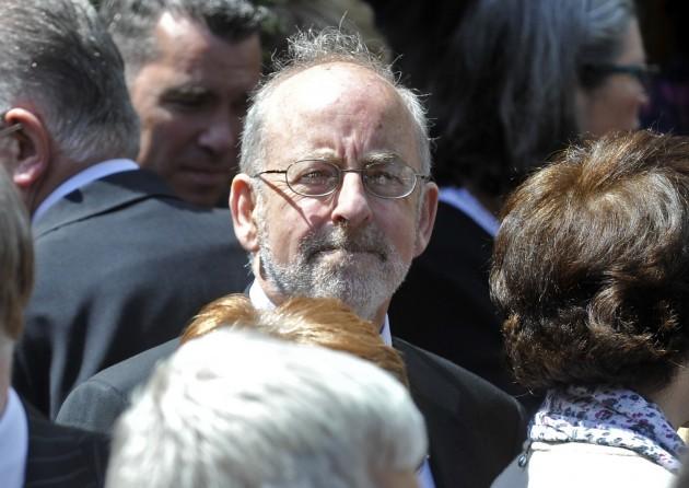 Brian Lenihans Funeral