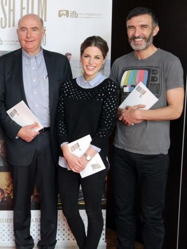 Pictured at the Irish Film
