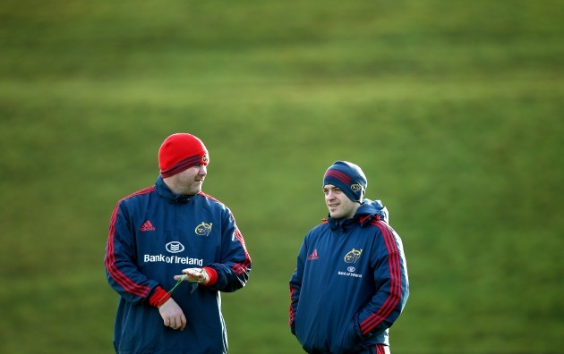 Anthony Foley and George Murray 15/1/2014