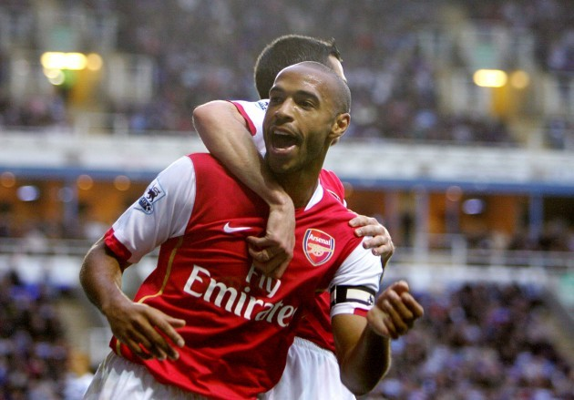 Soccer - Thierry Henry Filer