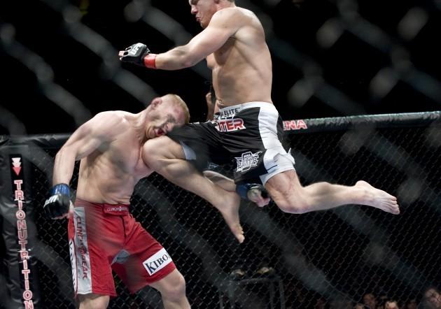 Mixed Martial Arts - UFC 105 - MEN Arena - Manchester